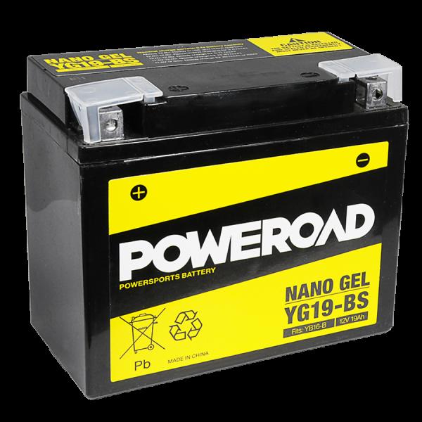 Poweroad Gel YG19-BS/12V-19AH(VE4)#