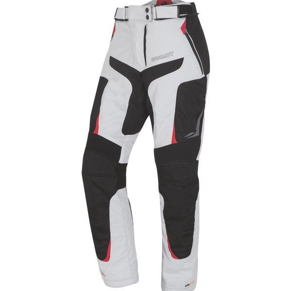 Germot X-Air Evo Pro Textilhose Herren Hellgrau / Schwarz