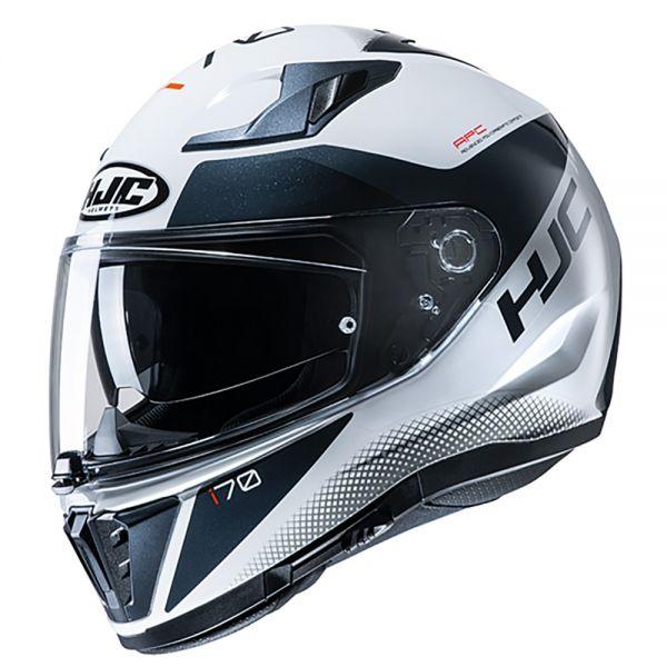 HJC i70 Tas weiß-schwarz MC10