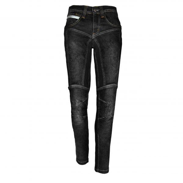 Axxus Bella Street Kevlar Jeans Damen schwarz