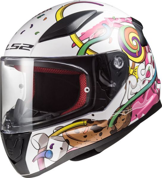 LS2 Rapid FF353 Rapid Mini Crazy Pop Kinderhelm