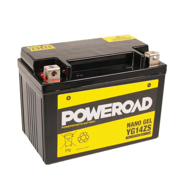 Poweroad Gel YG14ZS/12V-11,3AH VE4#