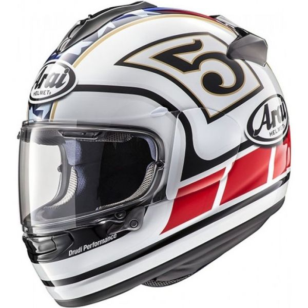 Arai chaser x edwards legend weiß