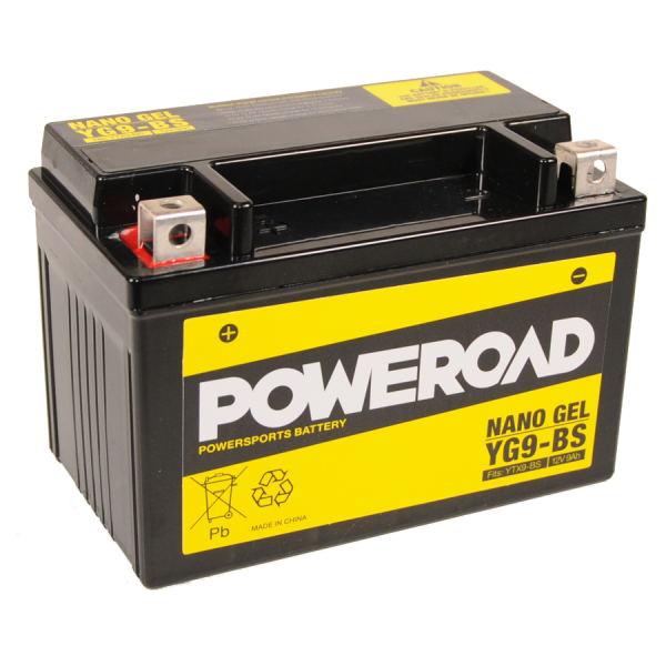 Poweroad Gel YG9-BS/12V-9AH (VE8)#