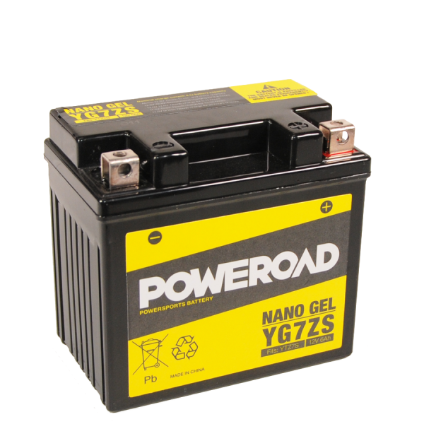 Poweroad Gel YG7ZS/12V-6AH (VE9)#