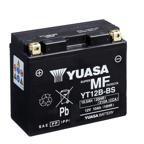 Yuasa YT12B-BS 12V/10A (VE04)