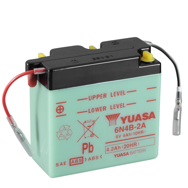 Yuasa 6N4B-2A 6V/4A (VE10)