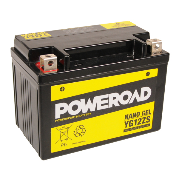 Poweroad Gel YG12ZS/12V-11AH VE4#