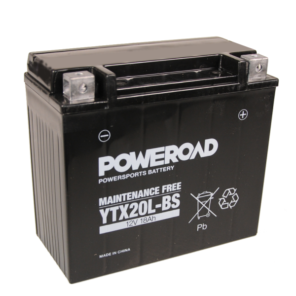 Poweroad YTR4A-BS 12V/2,3A VE20