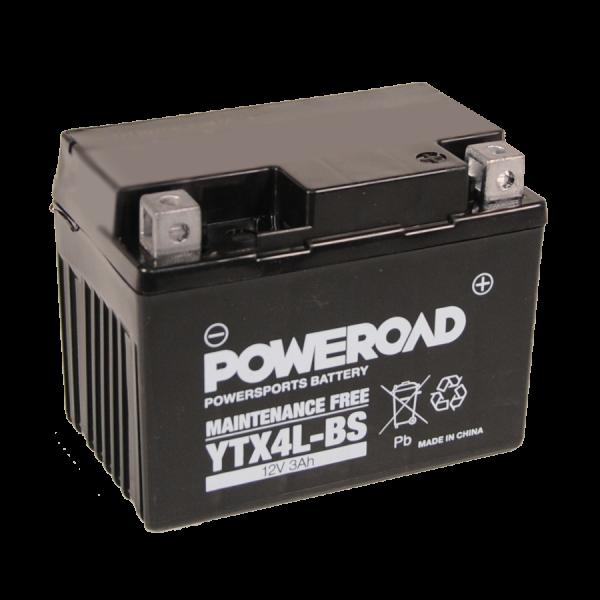 Poweroad YTX4L-BS 12V/3Ah (VE8)