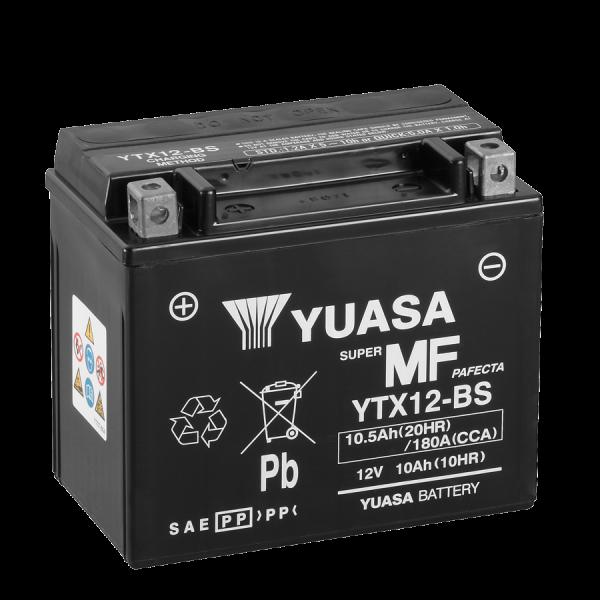 Yuasa YTX12-BS 12V/10A (VE04)