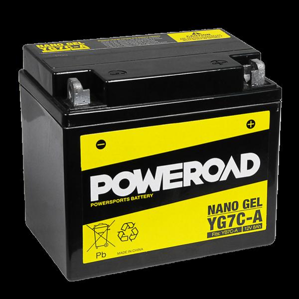 Poweroad Gel YG7C-A/12V-8AH VE5#
