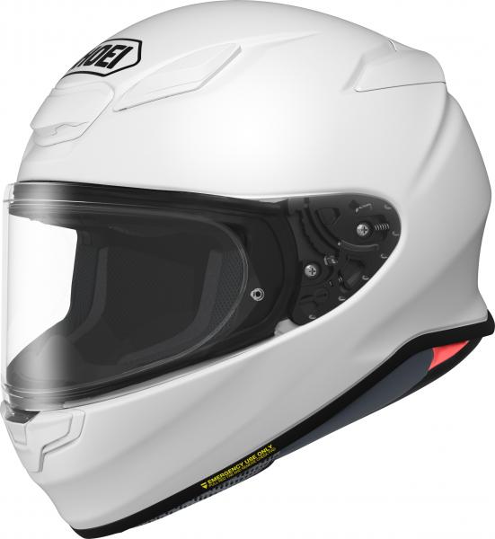 Shoei NXR2 Unifarben Weiß