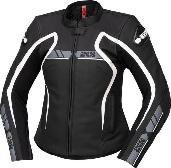 iXS Sport LD Damen Jacke RS-600 1.0 Schwar / Grau / Weiß
