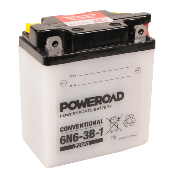 Poweroad 6N6-3B-1 6V/6A (VE10)