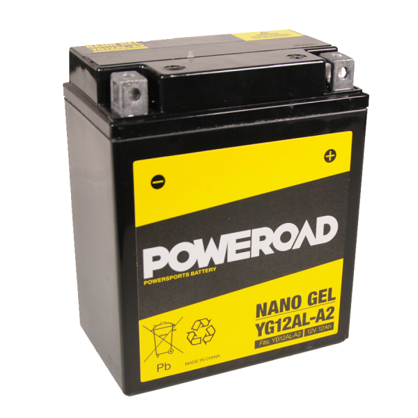 Poweroad Gel YG12AL-A2/12V-12AH VE5#