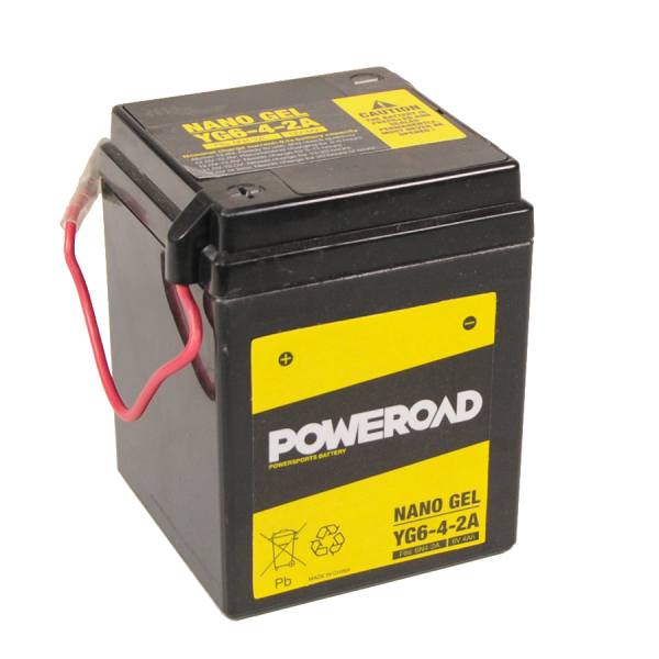 Poweroad Gel YG6-4-2A/6V-4A VE20#