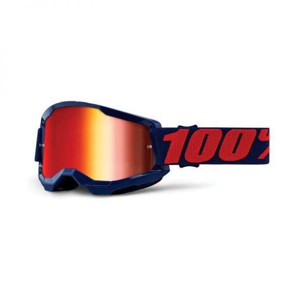 100% Brille Strata 2 Masego / Rot verspiegelt