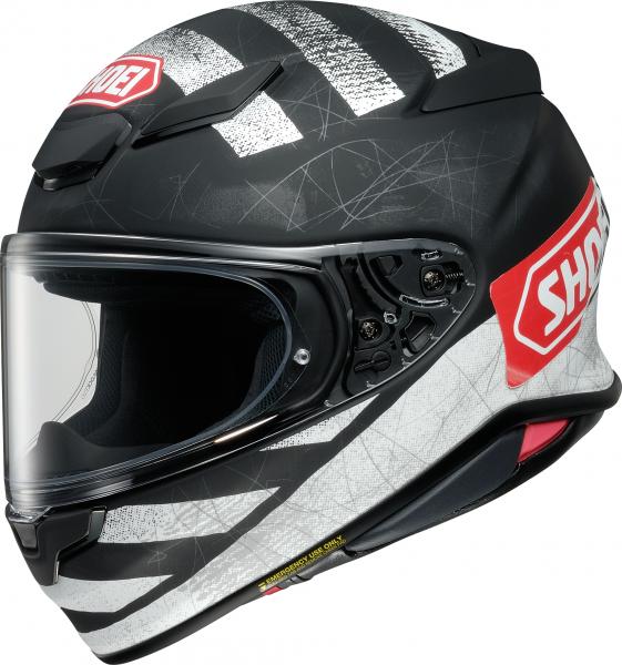 Shoei NXR2 Scanner TC-5 Schwarz / Weiß / Rot