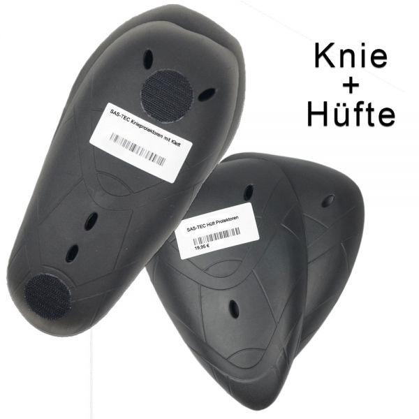 SASTEC SET Protektoren Hüfte und Knie