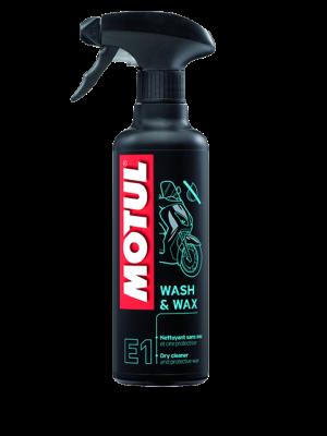 MOTUL E1 WASH & WAX Trockenreiniger 400ml