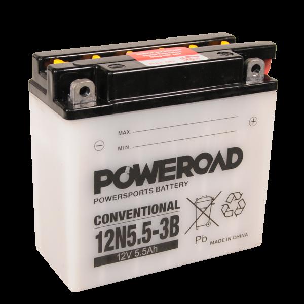 Poweroad 12N5,5-3B 12V/5,5A VE12