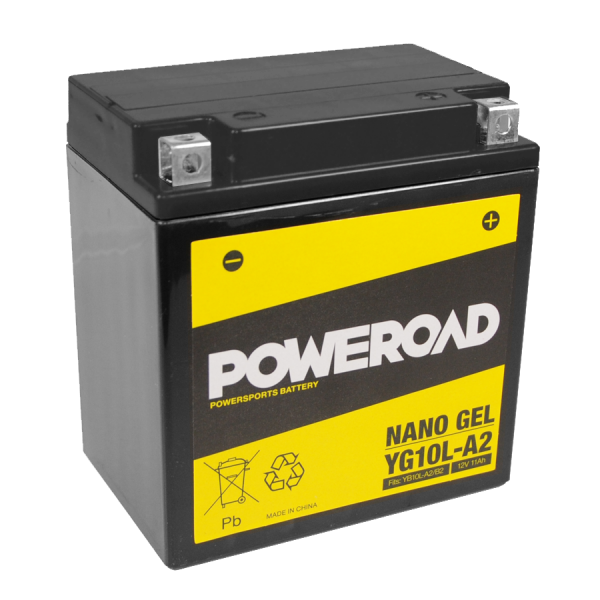 Poweroad Gel YG10L-A2/12V-11AH VE5#