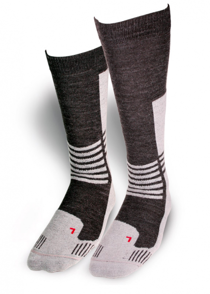 Daytona Trans Tex Kurz Socken Grau